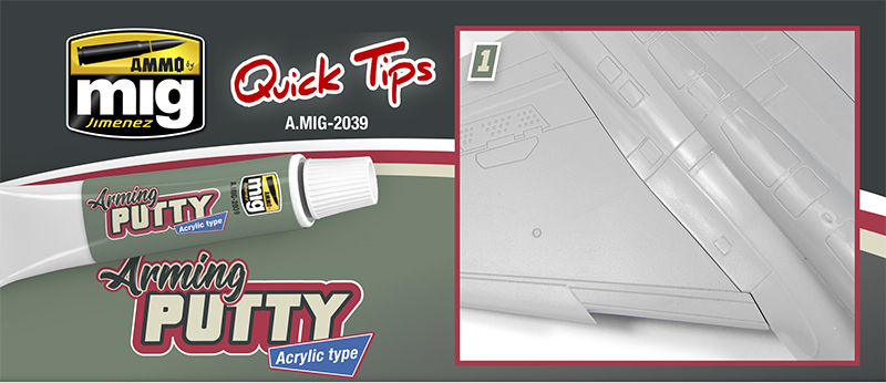 Quick Tips - ARMING PUTTY ACRYLIC