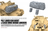 Israel Tank Magach 6B GAL BATASH Fully Loaded Rear Basket