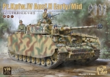 Pz.Kpfw.IV Ausf.H Early/ Mid with Figures (2 in 1)