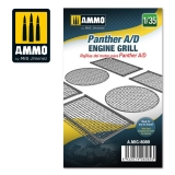Panther A/D engine grilles (1:35)