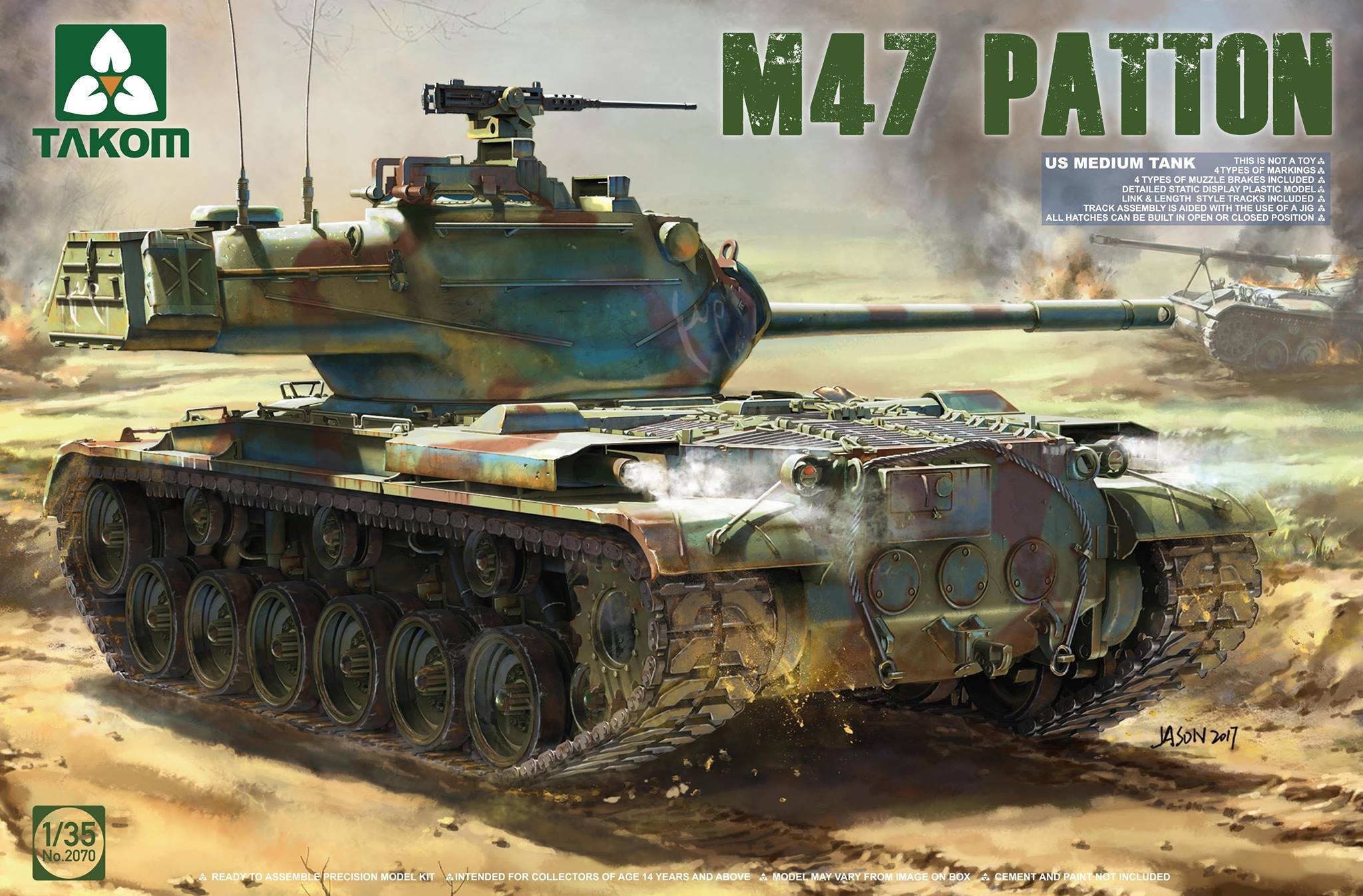 US Medium Tank M47 Patton