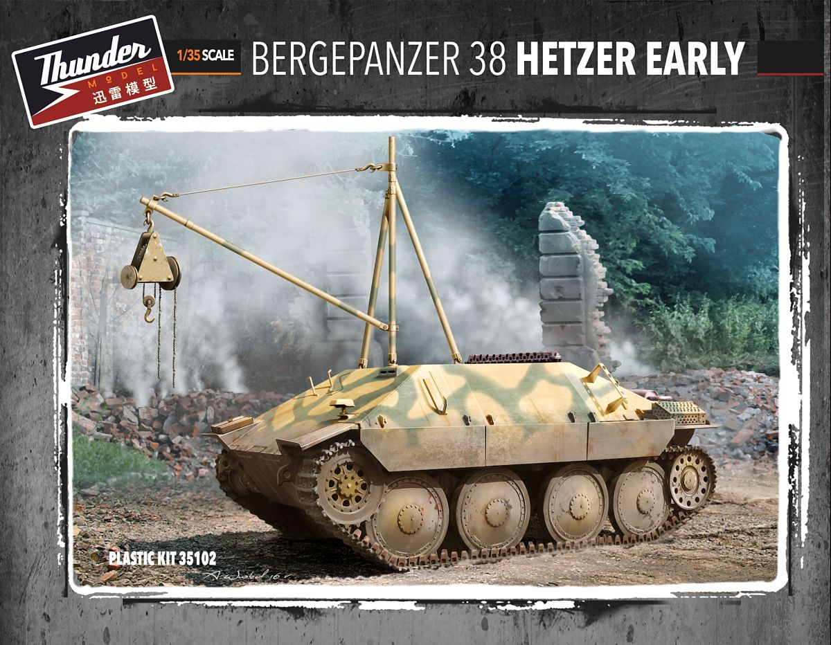 Bergepanzer 38(t) Hetzer - Early