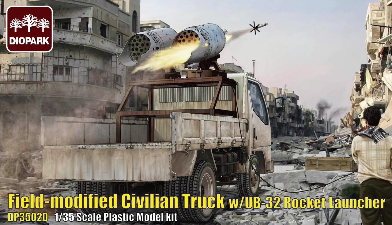 Filed-Modified Civilian Truck w/UB-32 Rocket Launcher