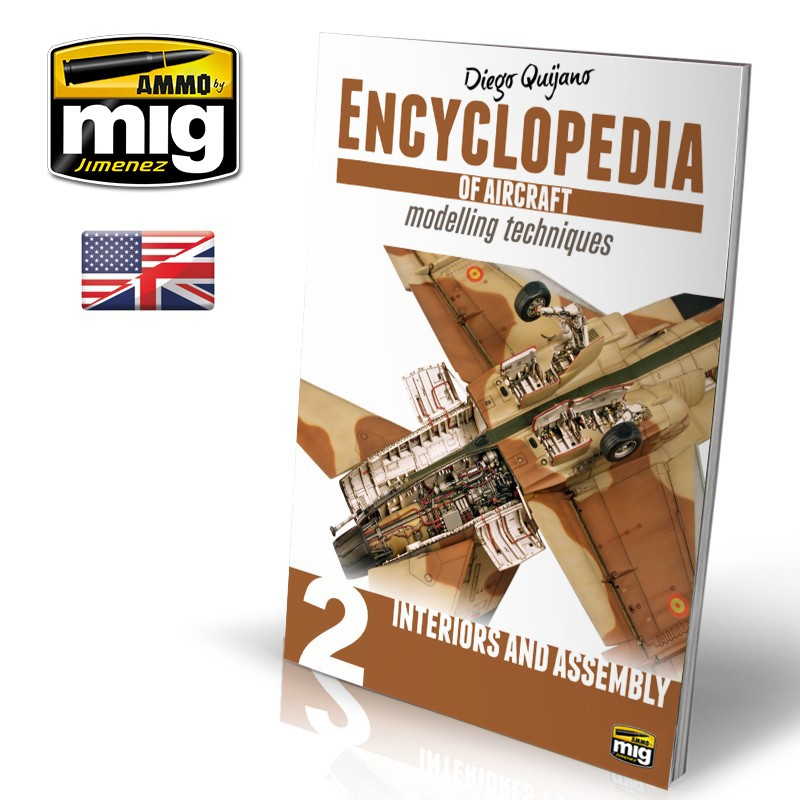 ENCYCLOPEDIA OF AIRCRAFT MODELLING TECHNIQUES - VOL.2 - INTERIORS AND ASSEMBLY