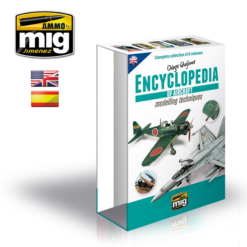 CASE for ENCYCLOPEDIA OF AIRCRAFT MODELLING TECHNIQUES