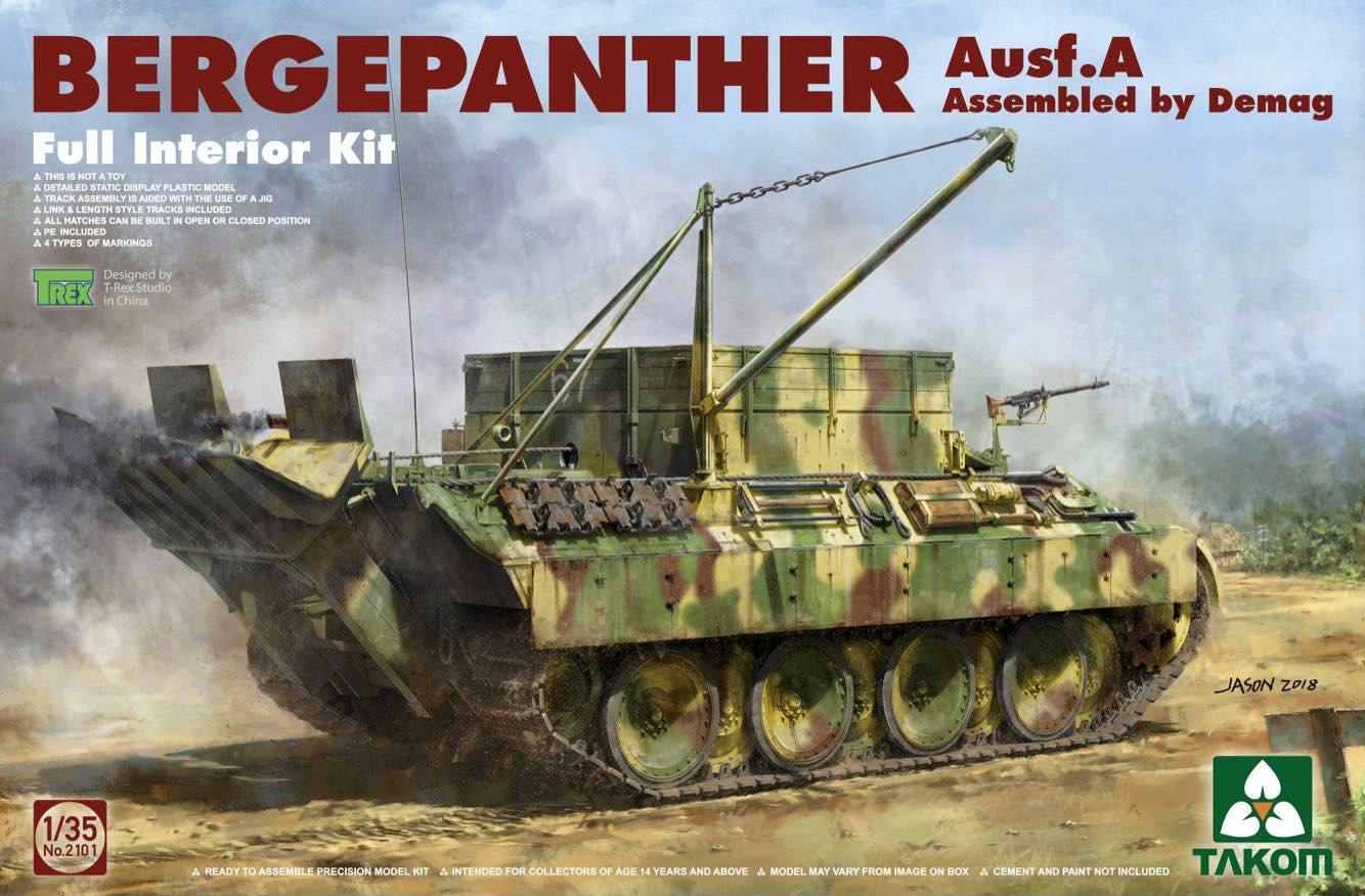 Bergepanther Ausf.A - Demag w/Full Interior
