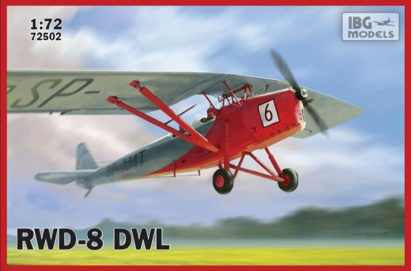 RWD-8 DWL Polish civil trainer plane
