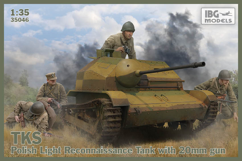 TKS - Polish Light Reconnaissance Tank with 20mm Gun