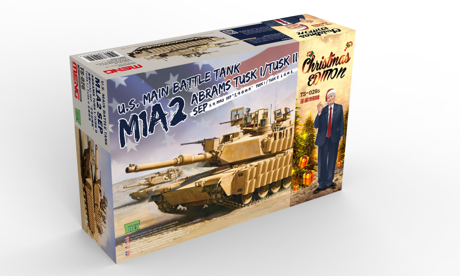 M1A2 Abrams SEP Tusk I/Tusk II - Limited Christmas Edition