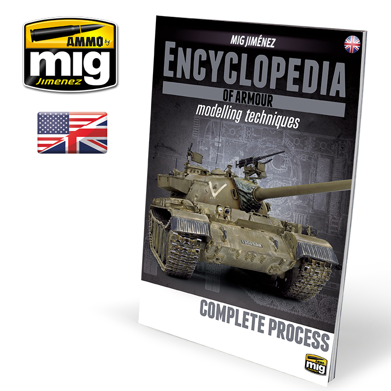 ENCYCLOPEDIA OF ARMOUR MODELLING TECHNIQUES VOL.6 EXTRA - COMPLETE PROCES (ENG)