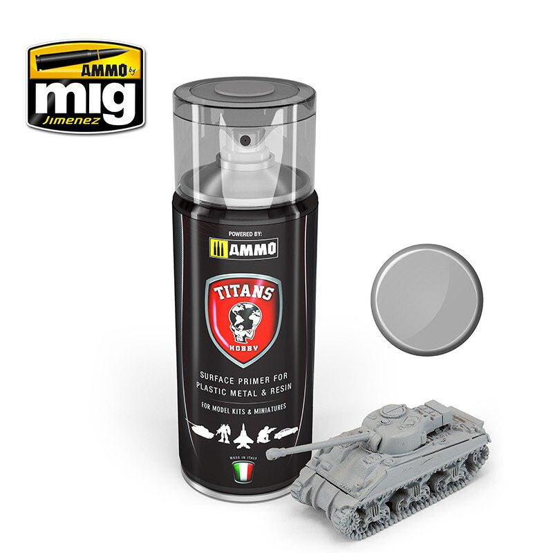 TITANS HOBBY: LIGHT GREY MATT PRIMER