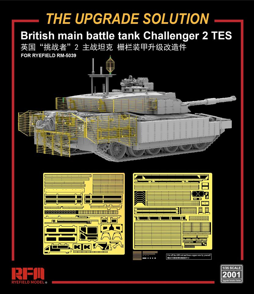 The Upgrade Solution For British MBT Challenger 2 TES