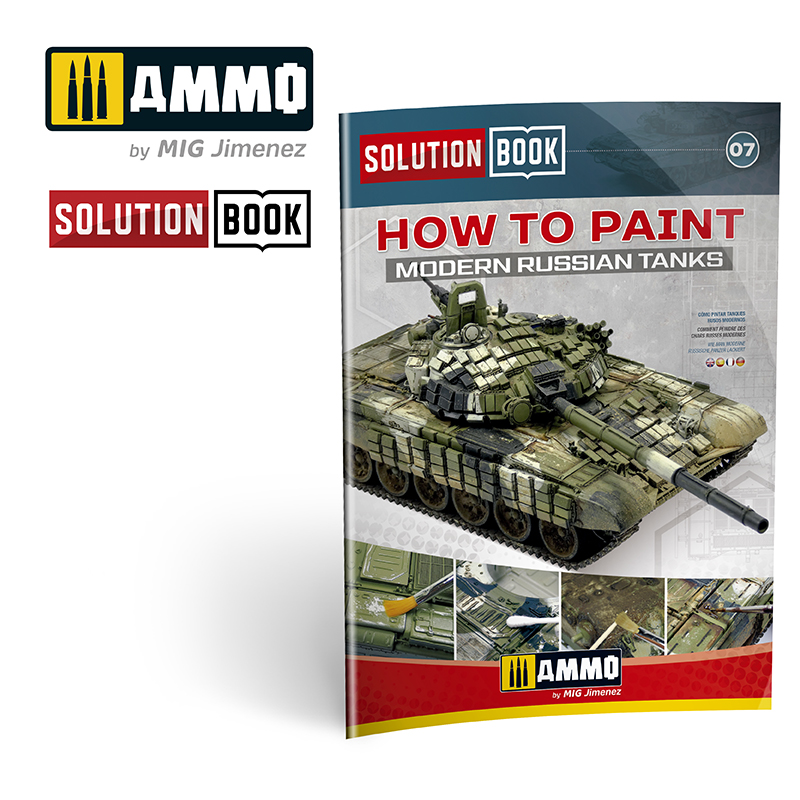 MODERN RUSSIAN TANKS SOLUTION BOOK