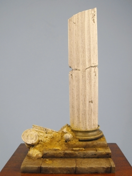 Ruined Ionic Column - Figure Base