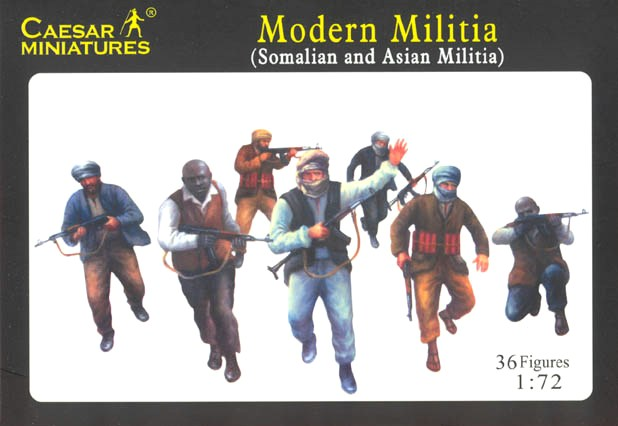 Modern Militia (Somalian and Asian Militia)