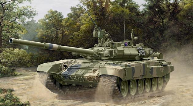 T-90 Russian battle tank