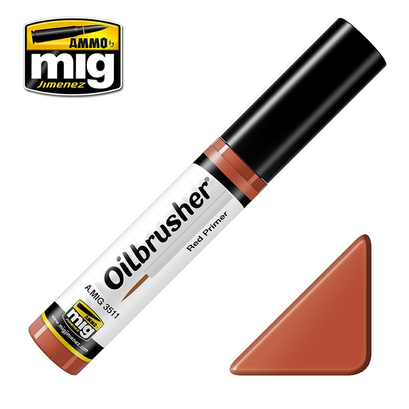 OILBRUSHER - RED PRIMER