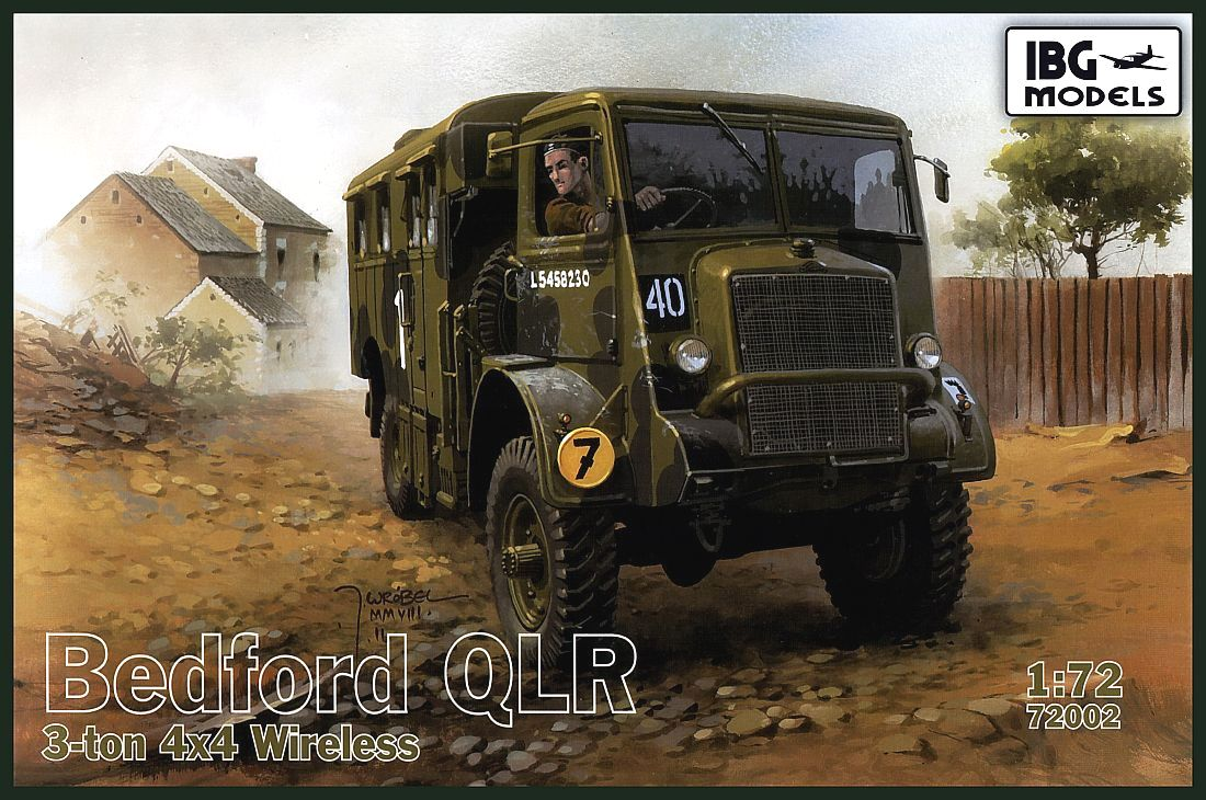 Bedford QLR, 3-ton 4x4 Wireless