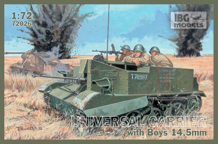 Universal Carrier with Boys AT Rifle 14,5mm