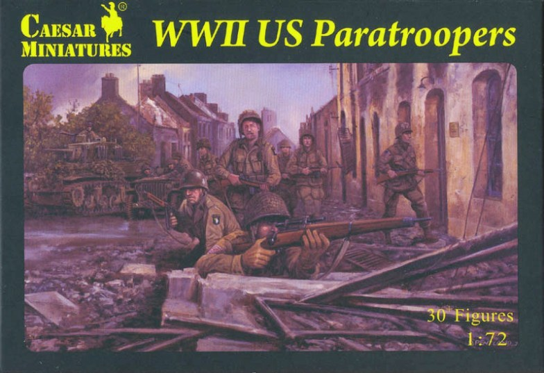 World War II US Paratroopers