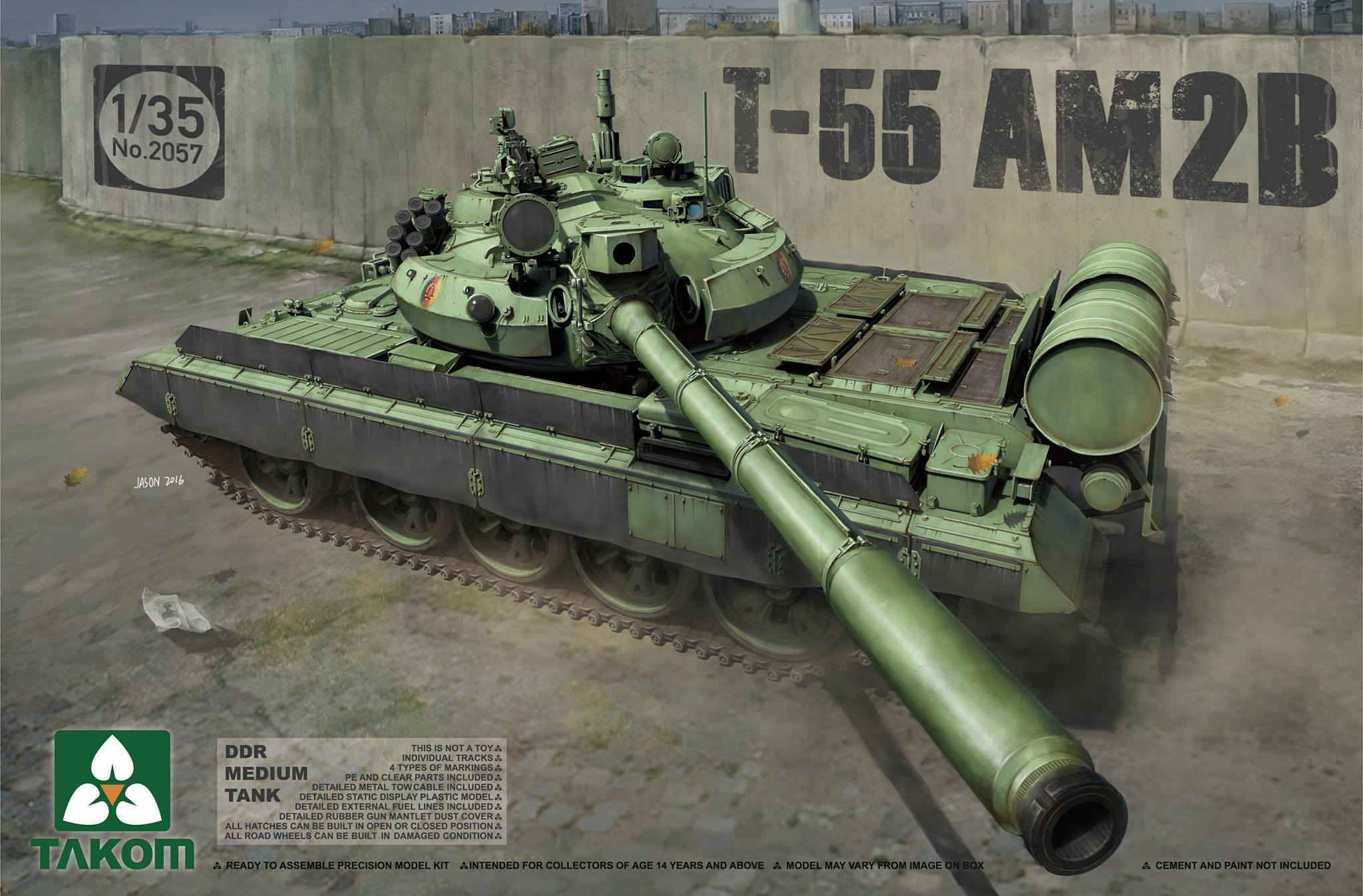 DDR Medium Tank T-55 AM2B