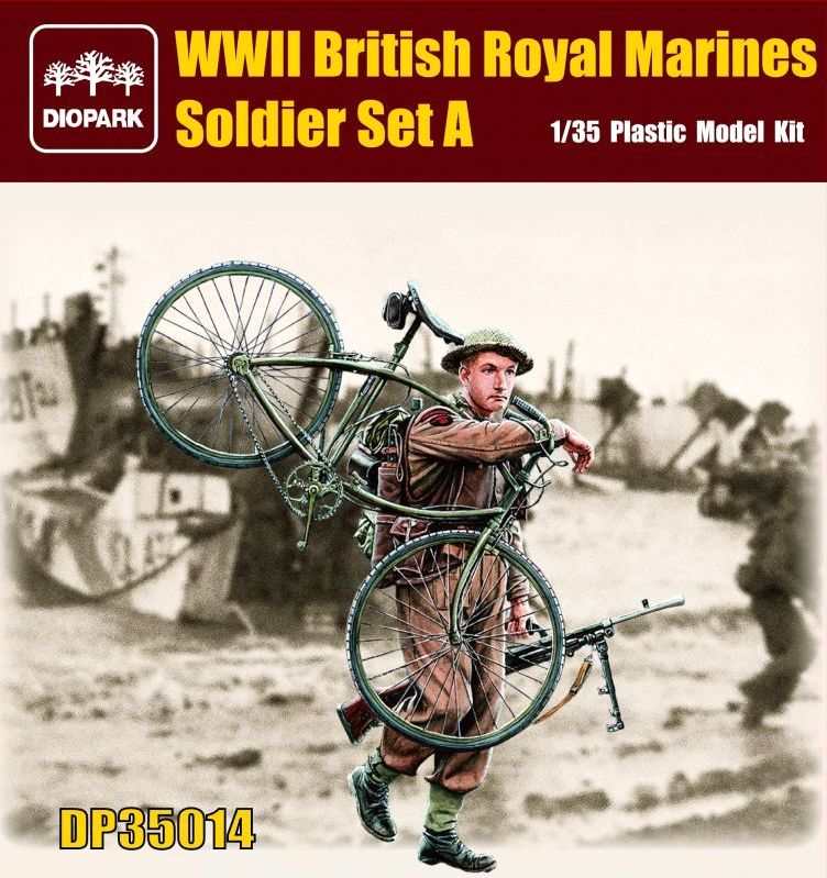 British Royal Marines Soldier Set A