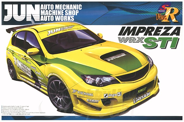 Subaru GRB Impreza WRX STI 5DOOR 2007 Jun version