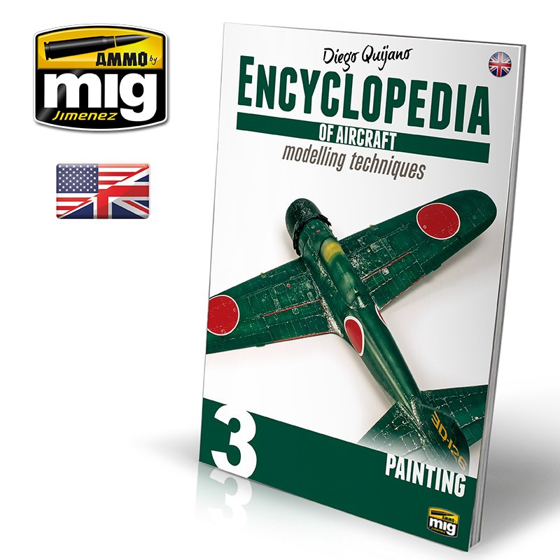 ENCYCLOPEDIA OF AIRCRAFT MODELLING TECHNIQUES - VOL.3 - PAINTING