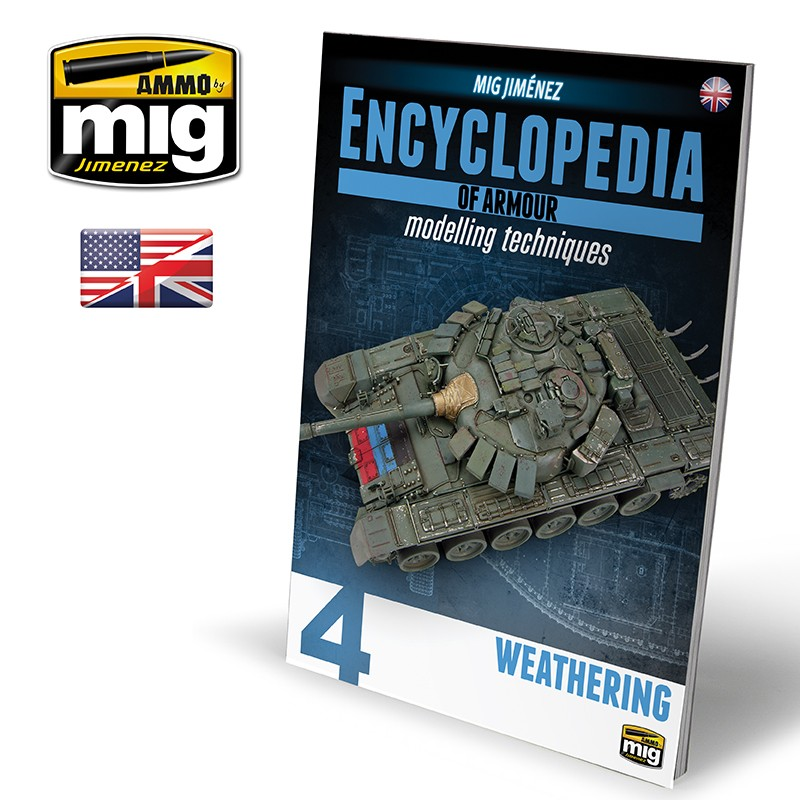 ENCYCLOPEDIA OF ARMOUR MODELLING TECHNIQUES VOL.4 - WEATHERING (ENG)