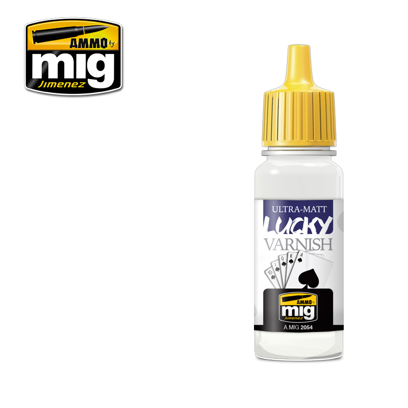 ULTRA-MATT LUCKY VARNISH / Ultra matný lak (17 ml)