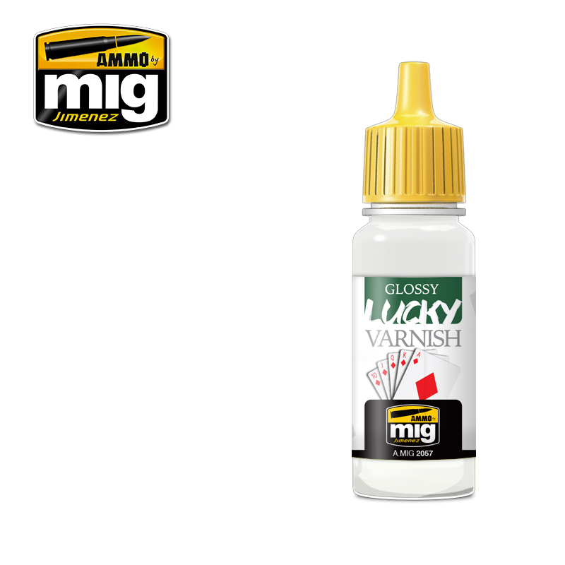 GLOSSY LUCKY VARNISH / Lesklý lak (17 ml)