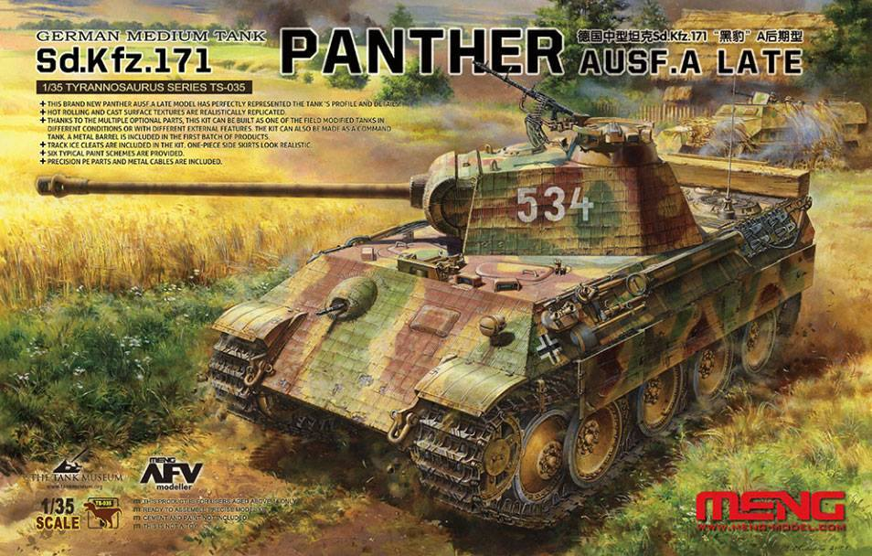 German Medium Tank Sd.Kfz.171 Panther Ausf.A - Late