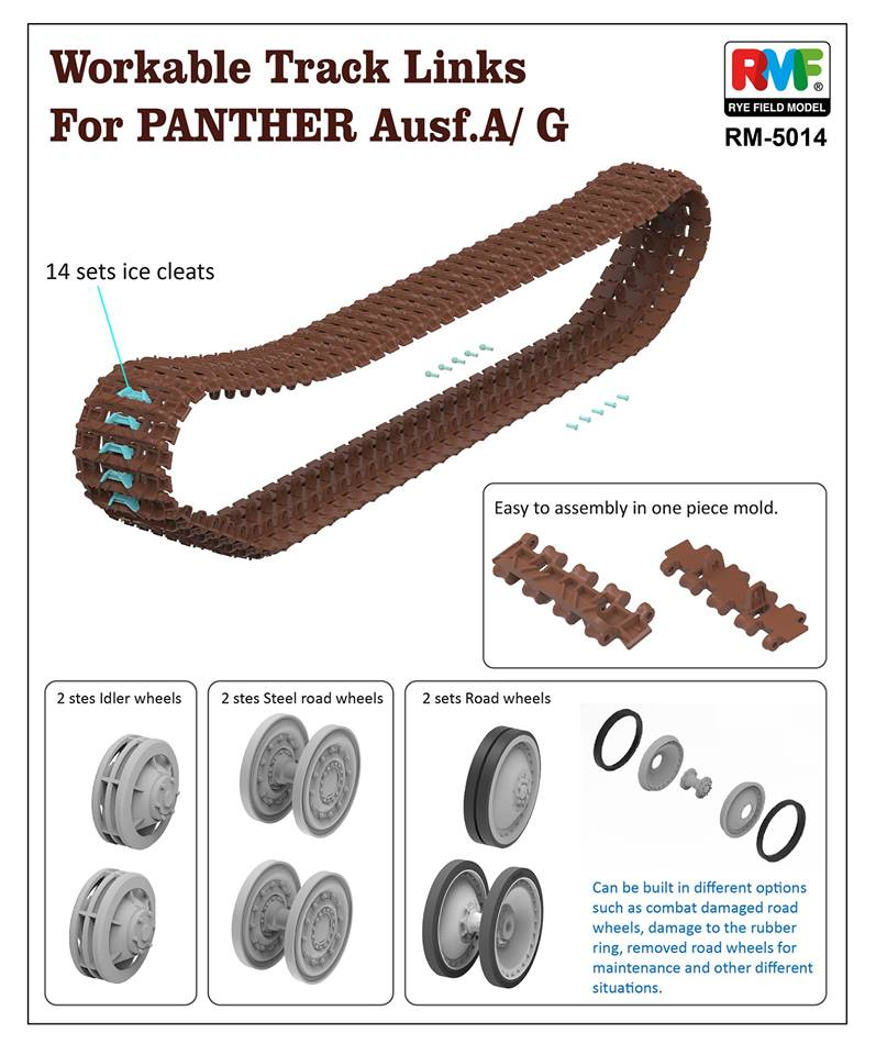 Workable Tracks for Panther A & G