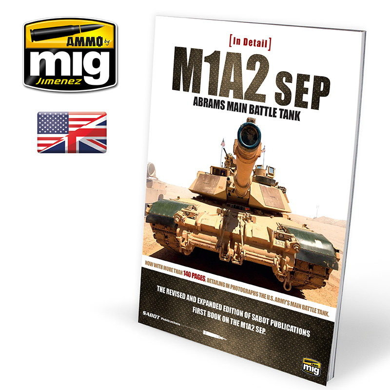 M1A2 SEP ABRAMS MAIN BATTLE TANK IN DETAIL (ENG)