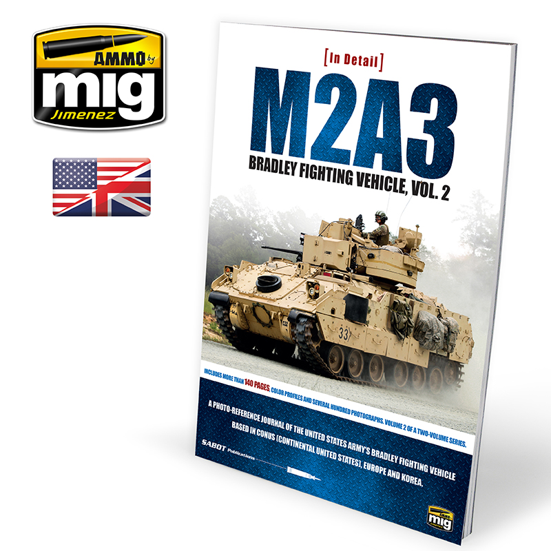 M2A3 BRADLEY FIGHTING VEHICLE IN EUROPE IN DETAIL VOL.2 (ENG)