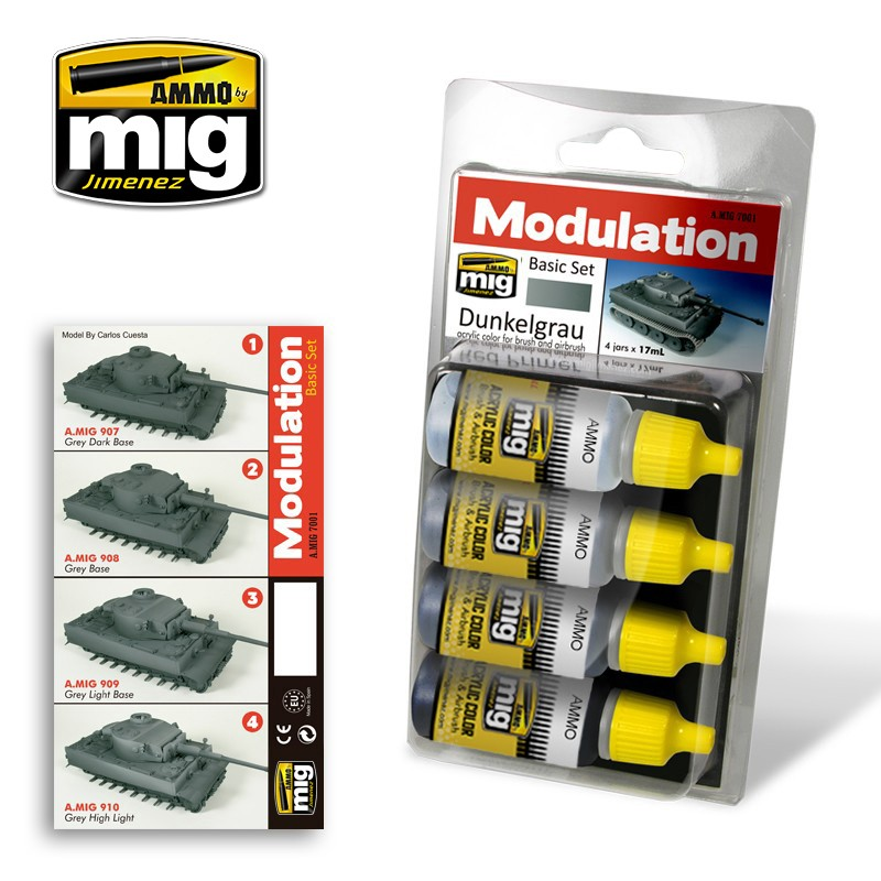 DUNKELGRAU MODULATION SET