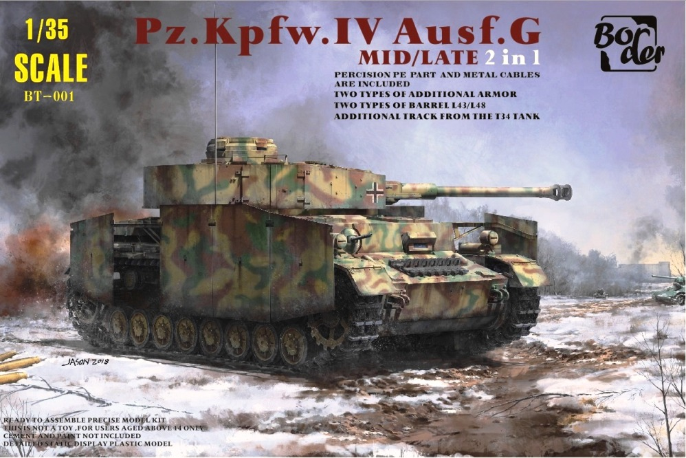Pz.Kpfw.IV Ausf.G - Mid/Late (2 in 1)