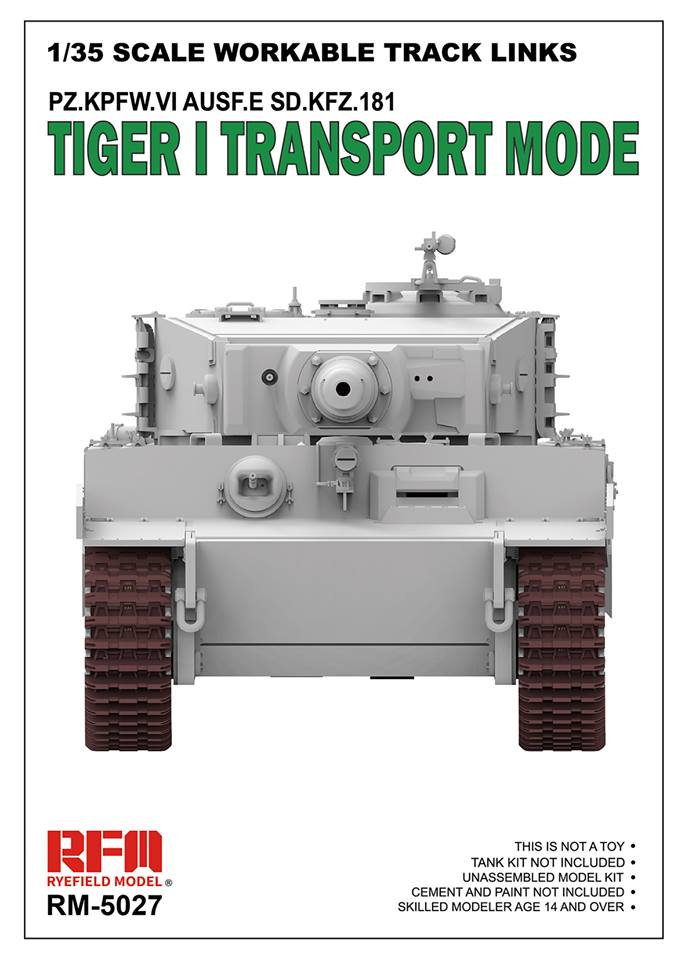 Workable Tracks Links For Tiger I - Transport Mode
