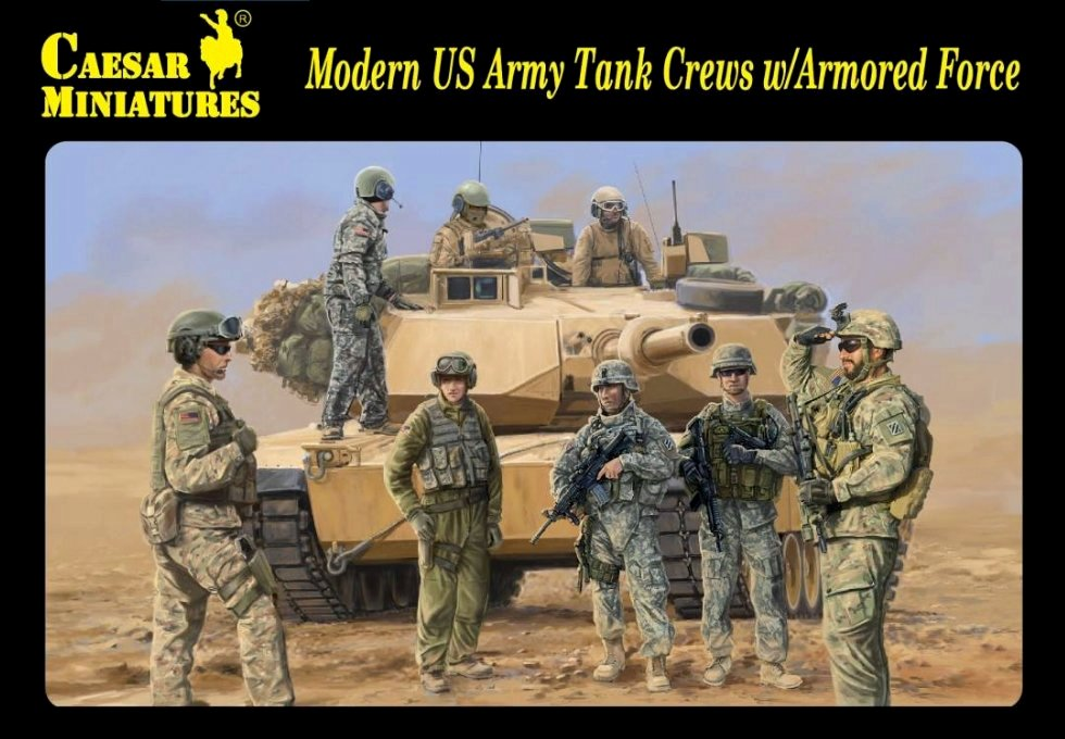 Modern US Army Tank Crews and Armored Force