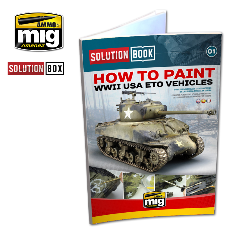 WWII AMERICAN ETO SOLUTION BOOK