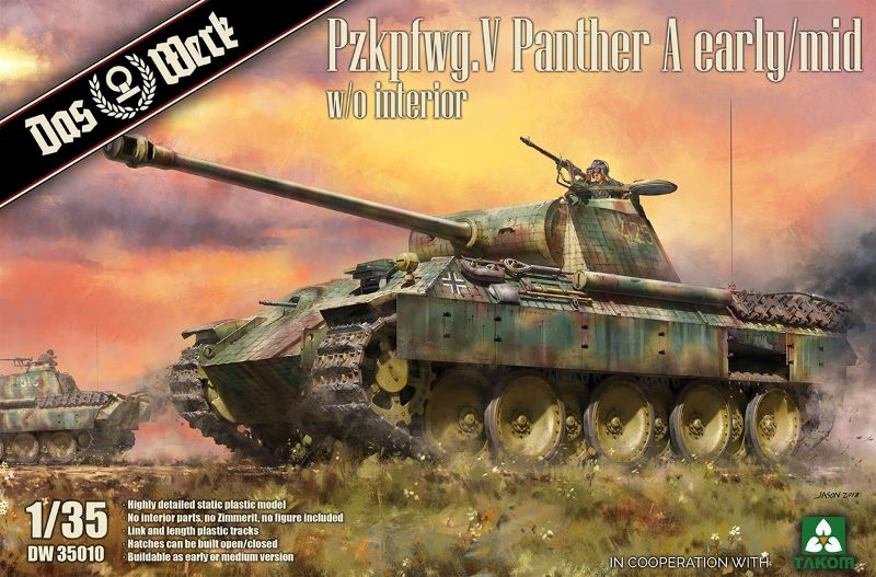 Pzkpfwg. V Panther A early/mid