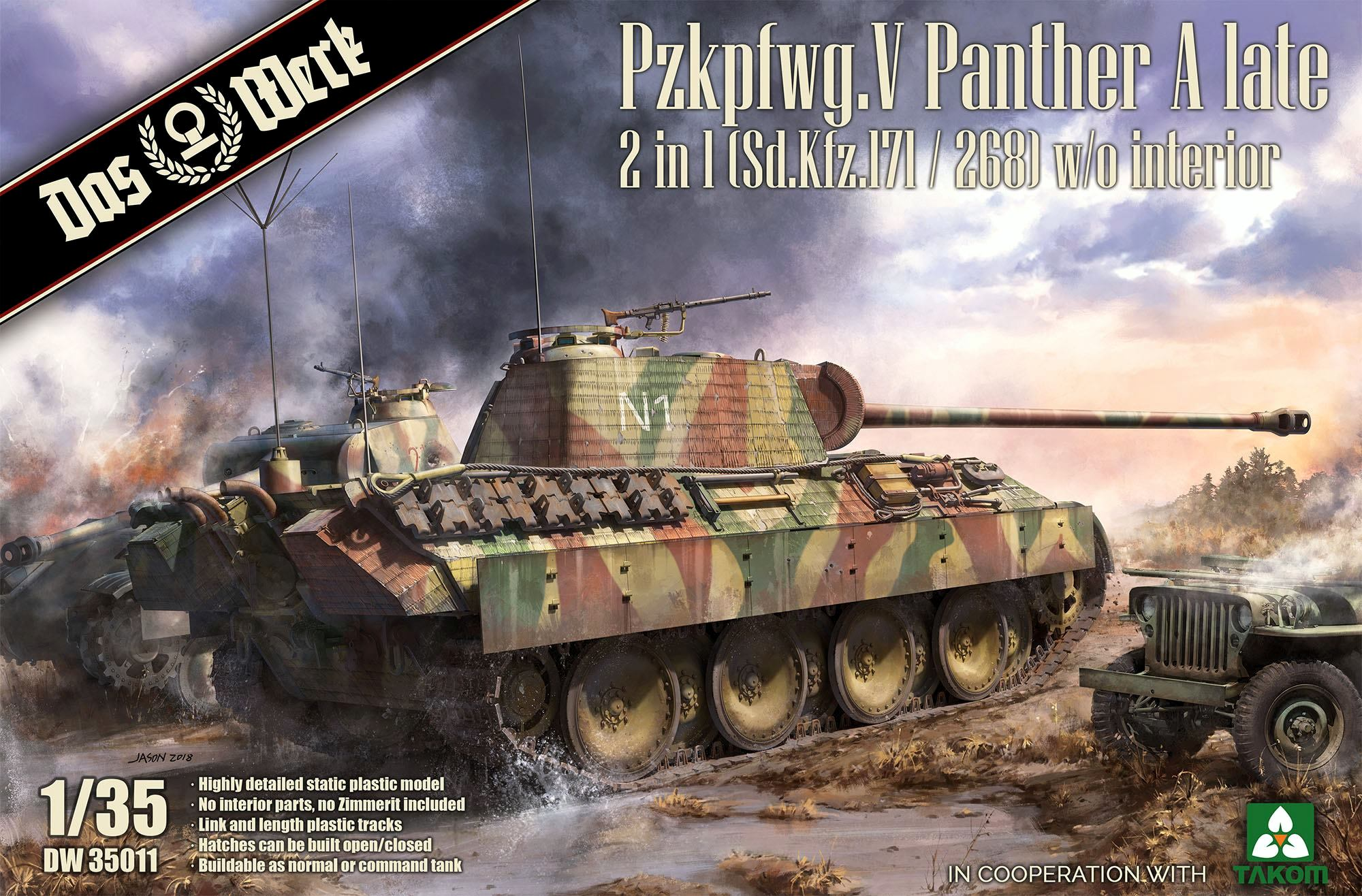 Pzkpfwg. V Panther A late - 2 in 1 (Sd.Kfz.171/268)
