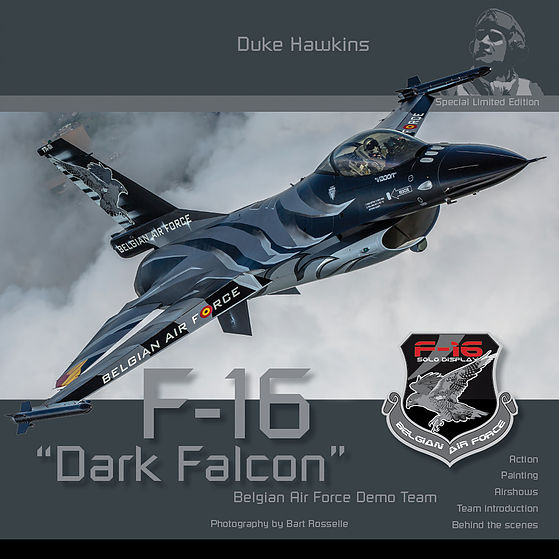 "Aircraft in Detail: F-16""Dark Falcon"", Belgian Air Force Demo Team"