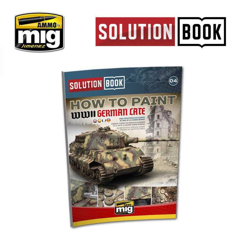 WWII GERMAN LATE SOLUTION BOOK