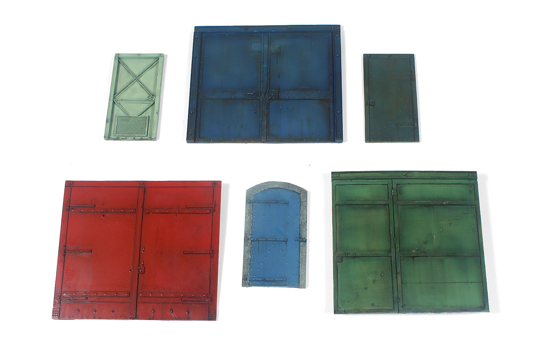 Industrial Doors & Gates Set