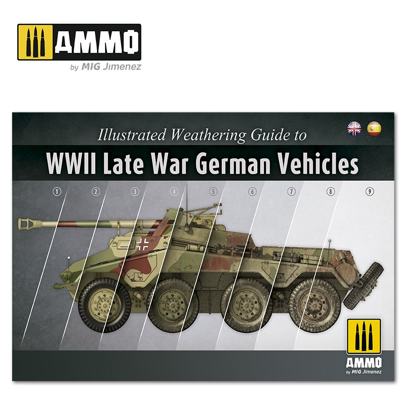 ILLUSTRATED GUIDE OF WWII LATE GERMAN VEHICLES (ENG/ESP)