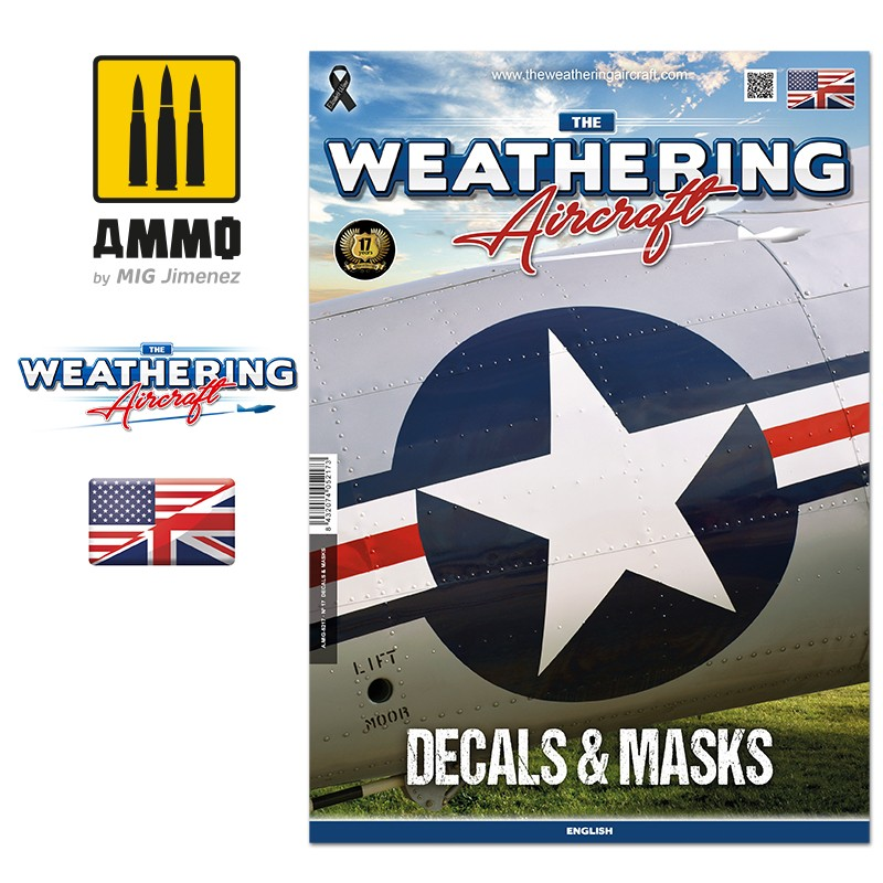 The Weathering Aircraft č.17 - DECALS & MASKS (ENG)