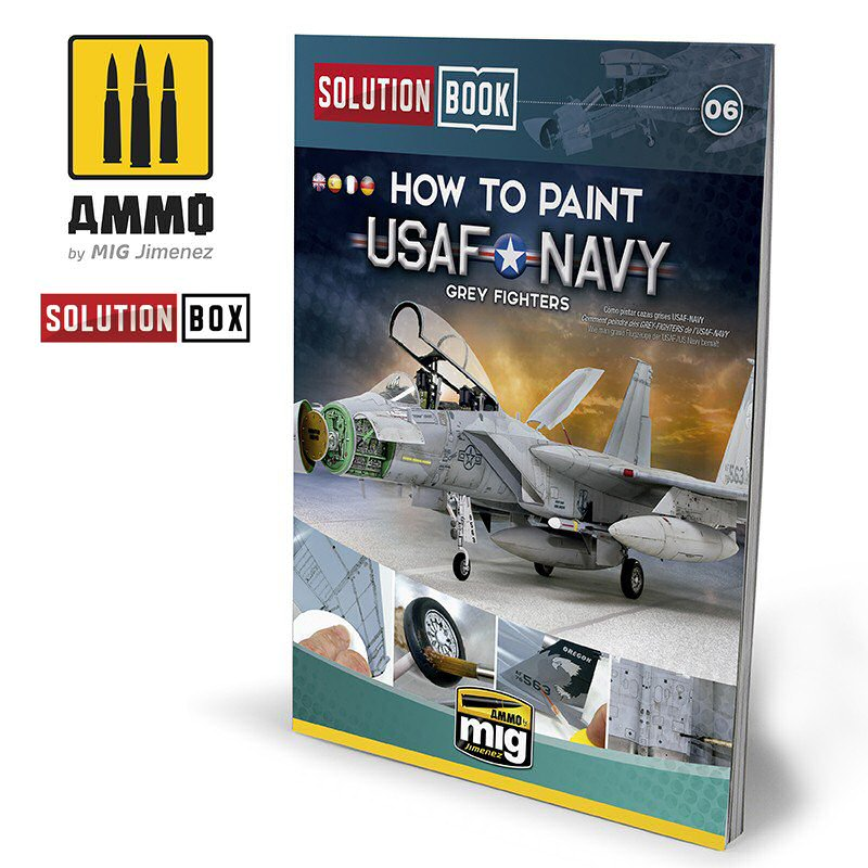 USAF-NAVY GREY FIGHTERS SOLUTION BOOK