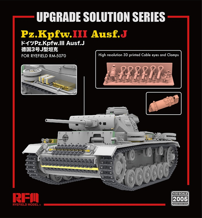 Upgrade Solution For Panzer III Ausf. J
