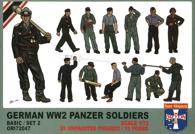 German WW2 Panzer Soldiers (Basic/Set 2)